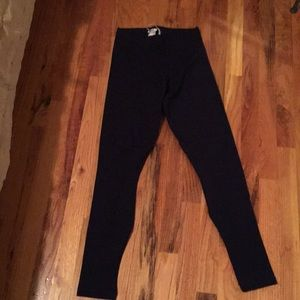 Wolford navy legging size s